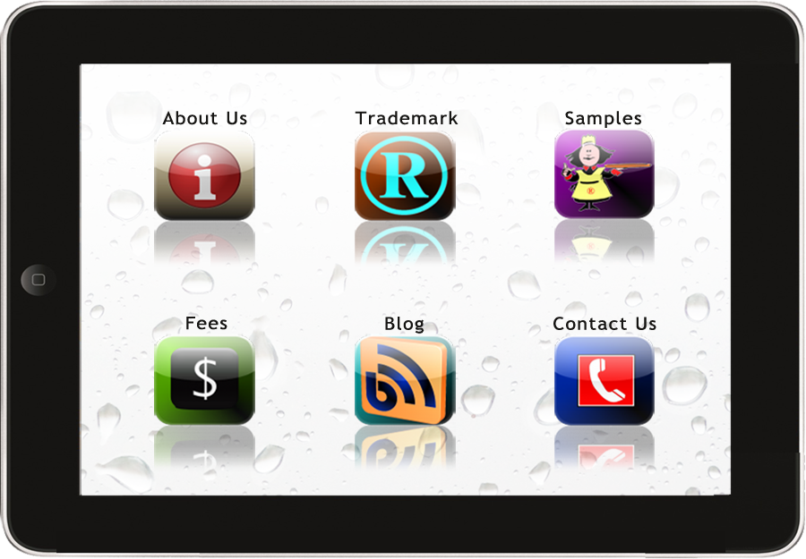 Trademark your App menu